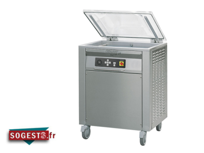 "Machine à emballer sous-vide double cloche compacte ""PLUSVAC24"""